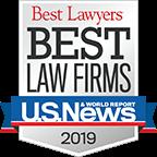 Best Lawyers Best Law Firm's 2019 logo