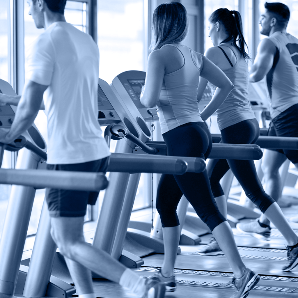 hospital industry and fitness clubs